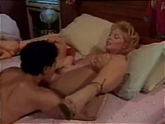 cumshot, fingering, rim-job, pornstar, nina hartley, close-up, tan-lines, vintage, pussy-licking, blowjob, blonde