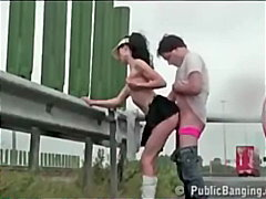 Public-Sex On A Highway
