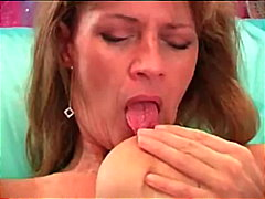 Mommy Masturbates With Her Dildo