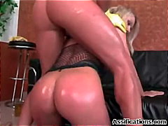 fishnet, anal, bigtits, oil,