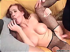 bigtits, anal, red-head, group-sex,
