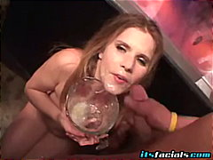 Blonde Whore Get A Cum... video