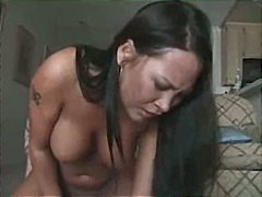 Gorgeous Asian MILF Blows Her Cum All...