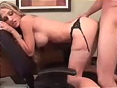 Tight Blonde Banged By... video