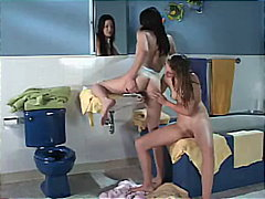 Roommates Get Wet And ... video