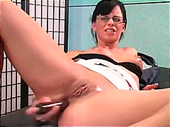 German Babe Toys Her A... video