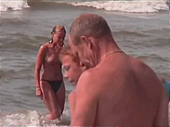 voyeur, tits, big, compilation, beach