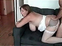 couple, lingerie, bigtits, riding,