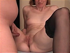 Skinny MILF Takes A Sm... video