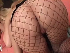 deepthroat, fishnet, threesome