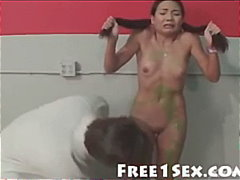 Asian Schoolgirl Banged Hard After Class