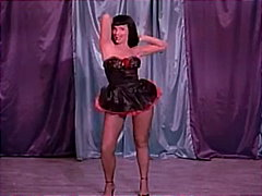 Keez Movies Movie:Pin-Up Super Star Betty Page!