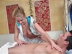 Blond German Masseuse - Keez Movies
