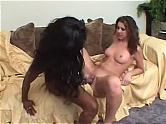 Black Chick, White Chick & A Purple Dildo