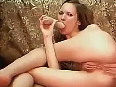 Slut Toys Her Holes On Webcam
