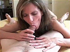 Horny MILF Playing With My Stick