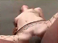 Red Head Jumps On A Hu... video