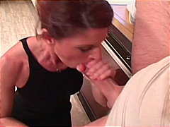 brown hair, doggy style, big cock,