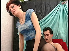 Euro MILF gets a good fuck!