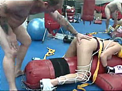 Milf brunette kick boxer dylan ryder with ...