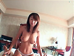Naughty asian milf gone wild and fuck...