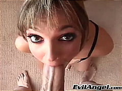 Lexi Love giving her best blowjob