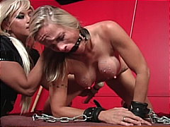 A female toy slave get...