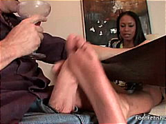 beauty, footjob, 3some, sexy feet,