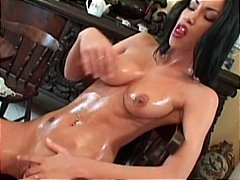 black hair, shaved pussy, masturbation, masturbating