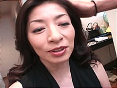 Japanese gets her hair done and then ...