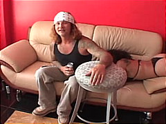 doggy style, gagging, big cock,