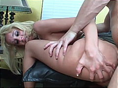 assfucking, doggy style, platinum blonde, ass fingering