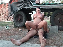 shaved pussy, big cock,