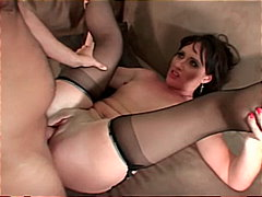 reverse cowgirl, mature teacher, brown hair, shaved pussy, piledriver, beauty, mom