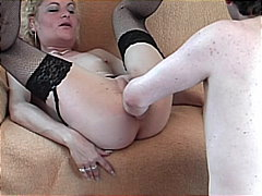 Ugly but very horny housewife blows h...