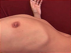 shaved pussy, brown hair,