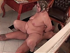 spoon, reverse cowgirl, fat mature