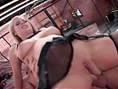 mmf, 3some, doggy style, big boobs,