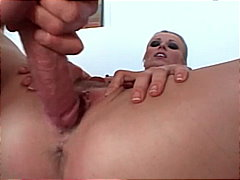 platinum blonde, big cock,