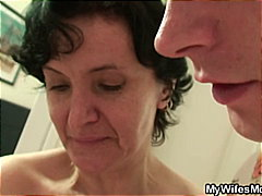 Horny milf drilled by massive dick !
