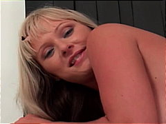 milf, platinum blonde, big cock