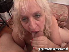 big natural tits, big cock, granny