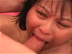 oriental, gagging, newbie, big cock