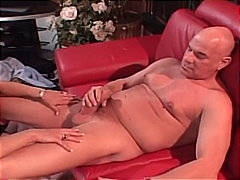mom, big cock, platinum blonde