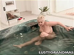rough fuck, fat mature, spoon, pool