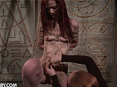 Mistress shows you some mouth and pus...