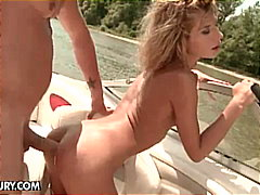 Porner Bros - Hot ass drilling for a skinny blonde on the boat