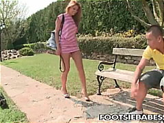 cindy hope,  feet licking,