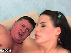 Amabella gets her holes filled by mat...