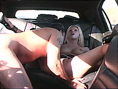 shaved pussy, rough fuck, car,